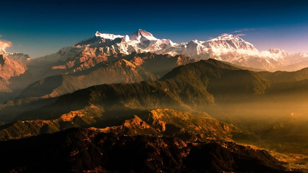mountain, Nepal